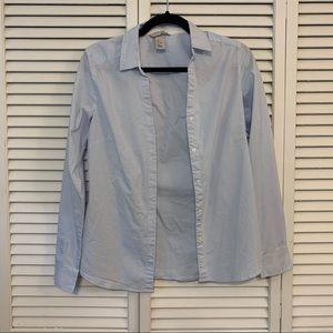 H&M Striped Button Down Shirt